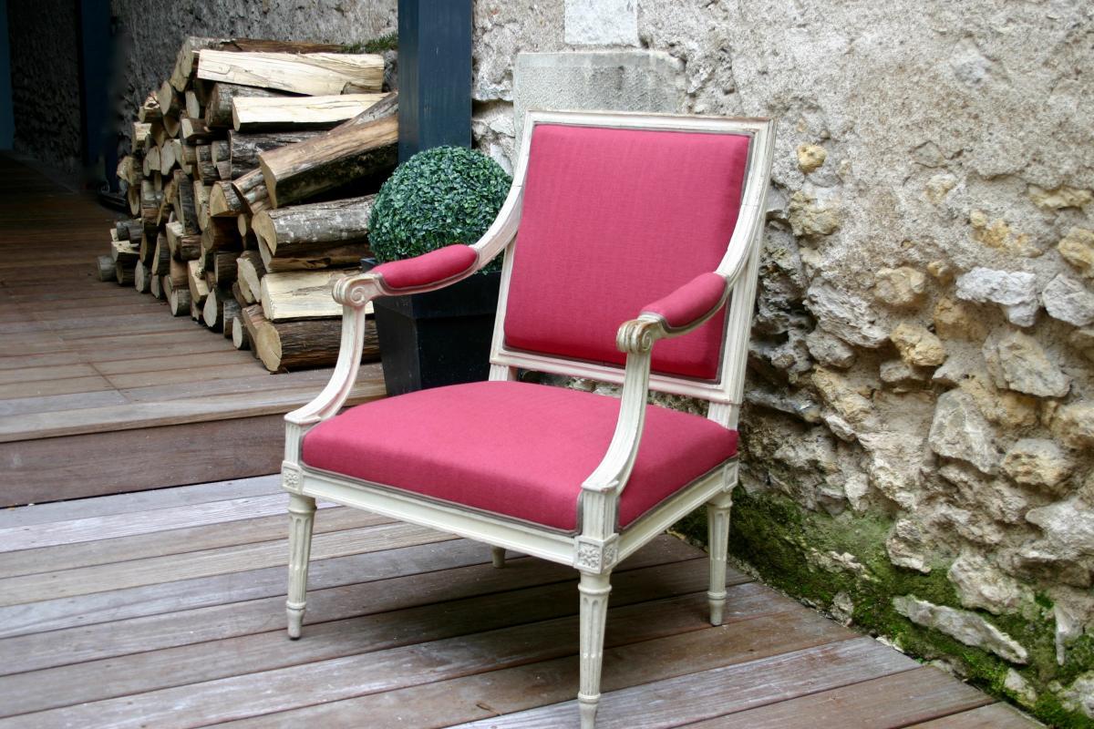 R alisations restauration de fauteuils tours - Cours de restauration de fauteuil ...
