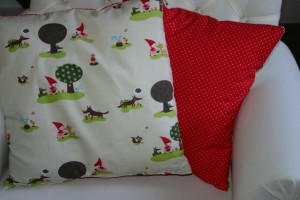 Coussin Chaperon Rouge